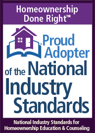 Proud Adopter of the National Industry Standards logo